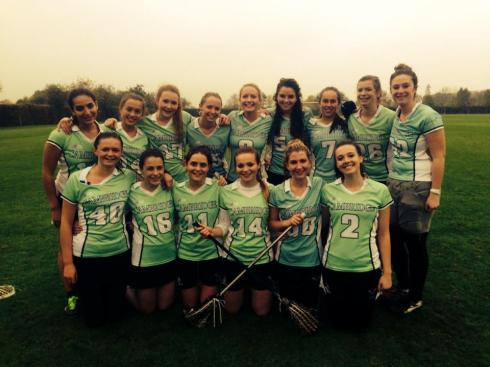 A triumphant Kingies team beat Warwick 14-4. MOM goes to GK Chloe Fox.